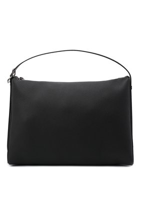 Мужская кожаная сумка berlingo LOEWE черного цвета, арт. B702A19X06   Фото 1
