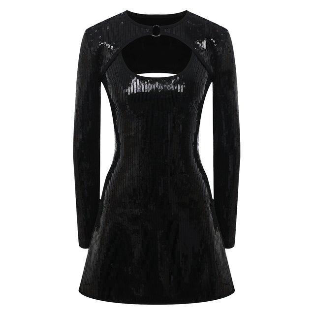 Платье с пайетками David Koma