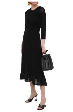 Женское платье DOROTHEE SCHUMACHER черного цвета, арт. 114203/AIRY ATTITUDE | Фото 2