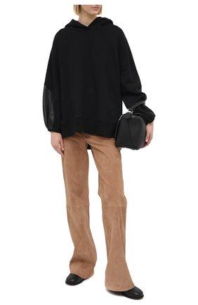 Женский худи DOROTHEE SCHUMACHER черного цвета, арт. 123207/CASUAL C00LNESS | Фото 2