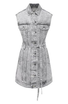 Женское джинсовое платье RAG&BONE серого цвета, арт. WDD20F2753W5AL   Фото 1