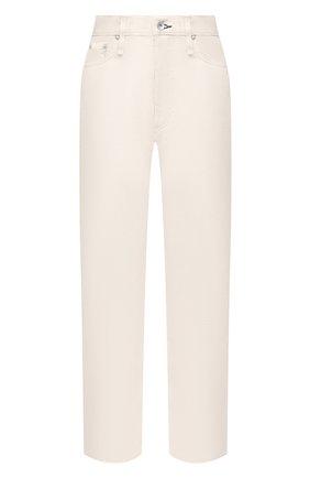 Женские джинсы RAG&BONE белого цвета, арт. WDD20F2727X7SH | Фото 1