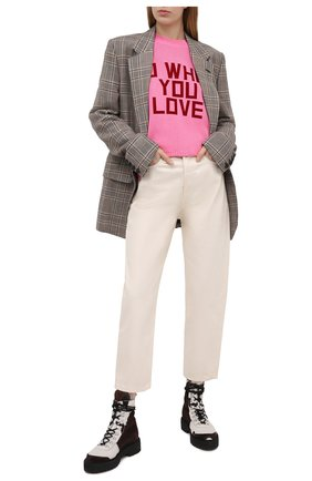 Женские джинсы RAG&BONE светло-бежевого цвета, арт. WDD20F2727X7SH | Фото 2