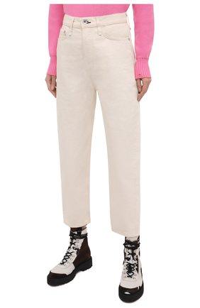 Женские джинсы RAG&BONE светло-бежевого цвета, арт. WDD20F2727X7SH | Фото 3