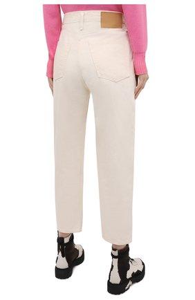 Женские джинсы RAG&BONE светло-бежевого цвета, арт. WDD20F2727X7SH | Фото 4