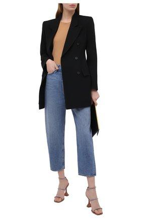 Женские джинсы RAG&BONE голубого цвета, арт. WDD20F2727K3CE | Фото 2