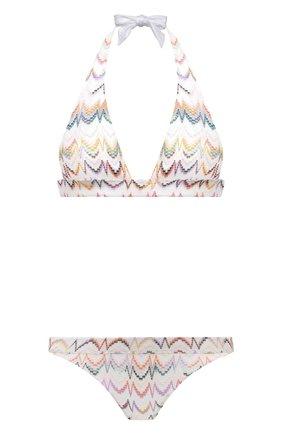 Женский раздельный купальник MISSONI белого цвета, арт. MMP00231/BR00CC | Фото 1