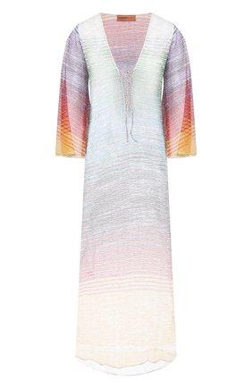 Женская туника из вискозы MISSONI разноцветного цвета, арт. MMQ00025/BT0010 | Фото 1