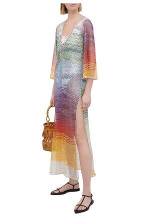 Женская туника из вискозы MISSONI разноцветного цвета, арт. MMQ00025/BT0010 | Фото 2