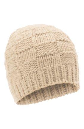 Женская шерстяная шапка BOTTEGA VENETA белого цвета, арт. 653591/3V206 | Фото 1