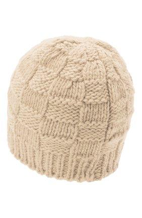 Женская шерстяная шапка BOTTEGA VENETA белого цвета, арт. 653591/3V206 | Фото 2