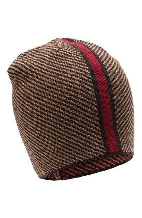 Мужская шерстяная шапка niko CANOE коричневого цвета, арт. 3441999 | Фото 1