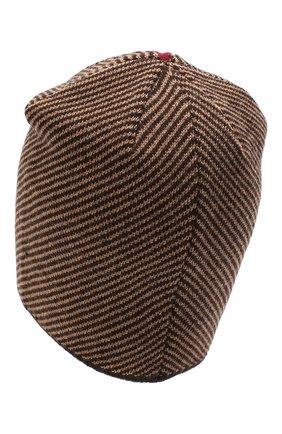 Мужская шерстяная шапка niko CANOE коричневого цвета, арт. 3441999 | Фото 2