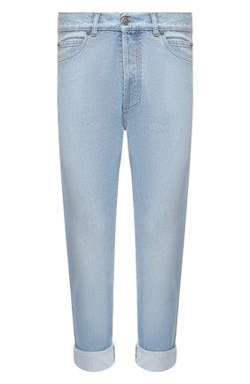 Мужские джинсы BALMAIN синего цвета, арт. VH1MM000/119D | Фото 1