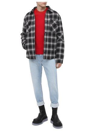 Мужские джинсы BALMAIN синего цвета, арт. VH1MM000/119D | Фото 2