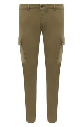 Мужские хлопковые брюки-карго 7 FOR ALL MANKIND хаки цвета, арт. JSUCT490LA | Фото 1