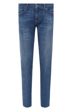 Мужские джинсы 7 FOR ALL MANKIND синего цвета, арт. JSD4B480LI | Фото 1