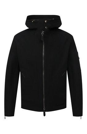 Мужская куртка GIORGIO ARMANI черного цвета, арт. 1SG0B04N/T02I6   Фото 1