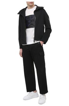 Мужская куртка GIORGIO ARMANI черного цвета, арт. 1SG0B04N/T02I6   Фото 2