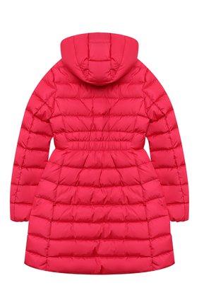 Детское пуховое пальто MONCLER фуксия цвета, арт. F2-954-1C502-10-54155/8-10A | Фото 2