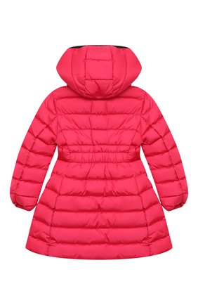 Детское пуховое пальто MONCLER фуксия цвета, арт. F2-954-1C502-10-54155/4-6A | Фото 2