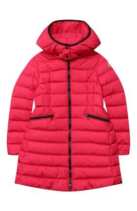 Детское пуховое пальто MONCLER фуксия цвета, арт. F2-954-1C502-10-54155/12-14A | Фото 1