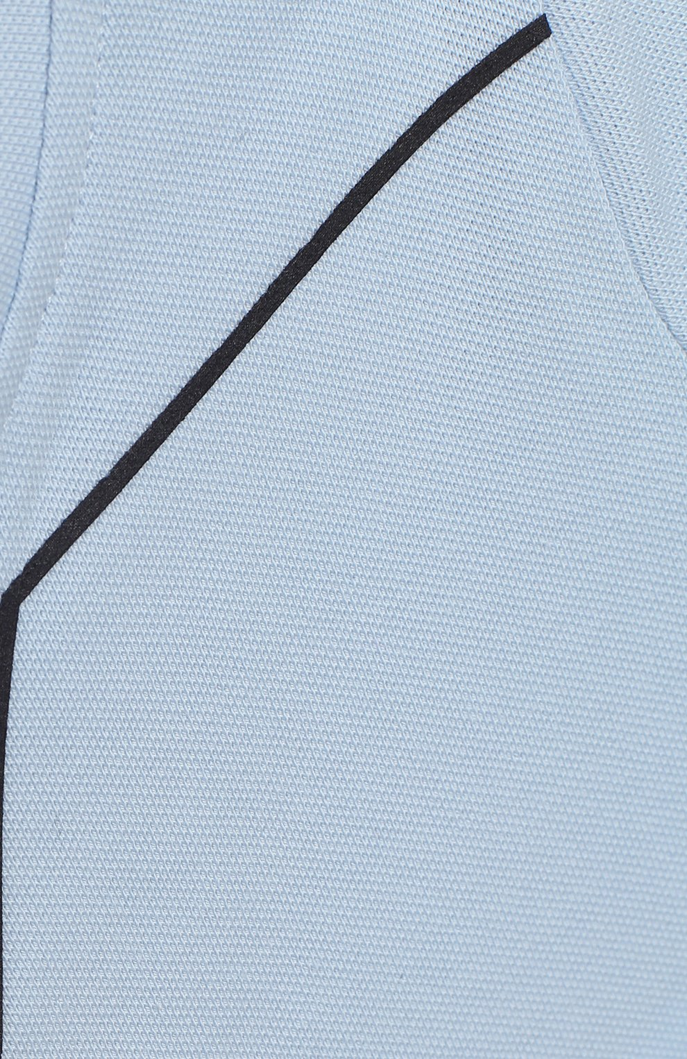 Детское хлопковый комбинезон EMPORIO ARMANI голубого цвета, арт. 3KHD77/4J4NZ   Фото 3