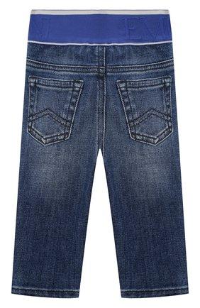 Детские джинсы EMPORIO ARMANI синего цвета, арт. 3KHJ07/4D2JZ | Фото 2