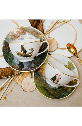 Набор из 2-х чашек с блюдцами Наследие Третьяковской галереи | Фото №2