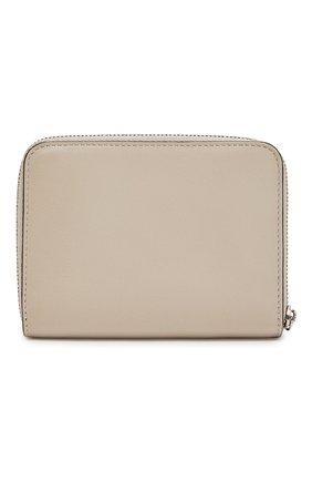 Женские кожаный кошелек LOEWE светло-бежевого цвета, арт. 103.54.V32   Фото 2