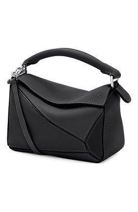 Женская сумка puzzle LOEWE черного цвета, арт. 322.30.U95 | Фото 1