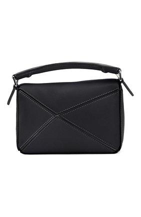 Женская сумка puzzle LOEWE черного цвета, арт. 322.30.U95 | Фото 2