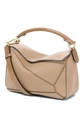 Женская сумка puzzle LOEWE бежевого цвета, арт. 32212KBS21 | Фото 1