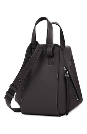 Женская сумка hammock small LOEWE черного цвета, арт. 387.30.S35 | Фото 2