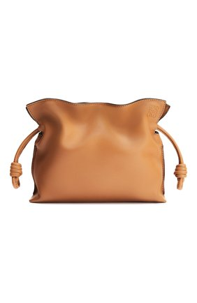 Женская сумка flamenco mini LOEWE бежевого цвета, арт. A411FC2X05 | Фото 1