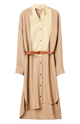 Женское платье LOEWE бежевого цвета, арт. S359335XEZ | Фото 1