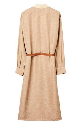Женское платье LOEWE бежевого цвета, арт. S359335XEZ | Фото 2