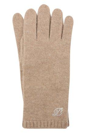 Женские кашемировые перчатки BALMUIR бежевого цвета, арт. 310005   Фото 1