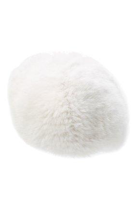 Женский берет из меха норки KUSSENKOVV белого цвета, арт. 11750001068 | Фото 2