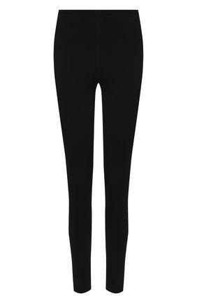 Женские леггинсы из вискозы VALENTINO черного цвета, арт. VB3KQA00655   Фото 1