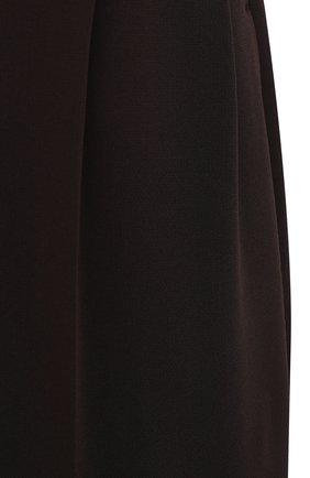 Женские брюки THE ROW темно-коричневого цвета, арт. 5475W1968   Фото 5