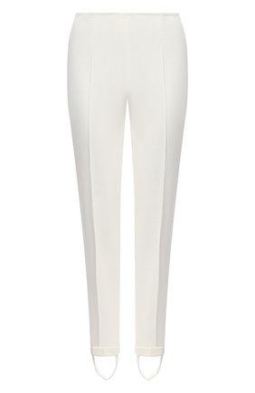 Женские хлопковые брюки KITON белого цвета, арт. D50117K09T97   Фото 1