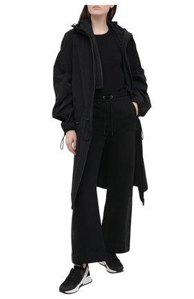 Женские брюки DOROTHEE SCHUMACHER черного цвета, арт. 123205/CASUAL C00LNESS | Фото 2