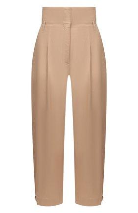 Женские хлопковые брюки DOROTHEE SCHUMACHER бежевого цвета, арт. 148103/SP0RTY P0WER | Фото 1