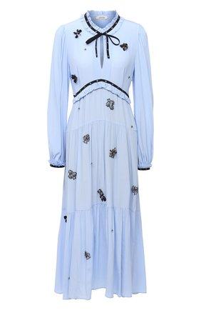 Женское платье DOROTHEE SCHUMACHER голубого цвета, арт. 148811/FANTASY M0MENT | Фото 1