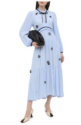 Женское платье DOROTHEE SCHUMACHER голубого цвета, арт. 148811/FANTASY M0MENT | Фото 2