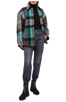 Женские джинсы RAG&BONE серого цвета, арт. WCW20H7009C109   Фото 2