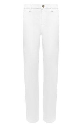Женские брюки из хлопка и вискозы 7 FOR ALL MANKIND белого цвета, арт. JSL4V95LCL | Фото 1