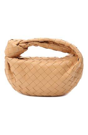 Женская сумка the mini jodie BOTTEGA VENETA бежевого цвета, арт. 651876/VCPP5 | Фото 1