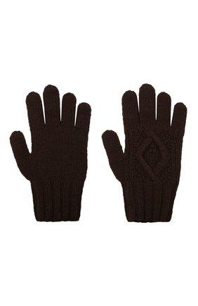 Мужские кашемировые перчатки RALPH LAUREN коричневого цвета, арт. 790826835 | Фото 2